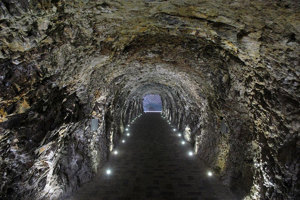 Провал в Пятигорске туннель