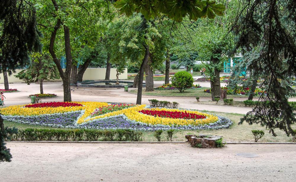 Цветник в Пятигорске