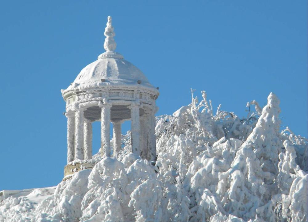 Эолова арфа Пятигорск зимой
