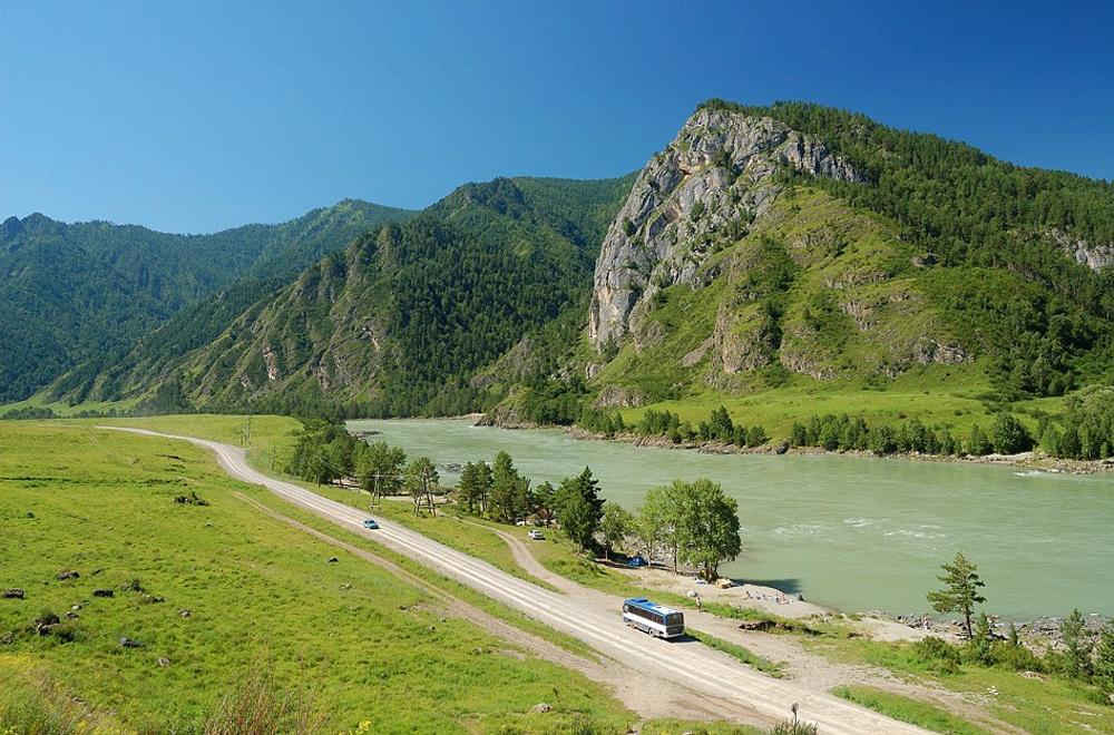 дорога от поселения Усть-Сема