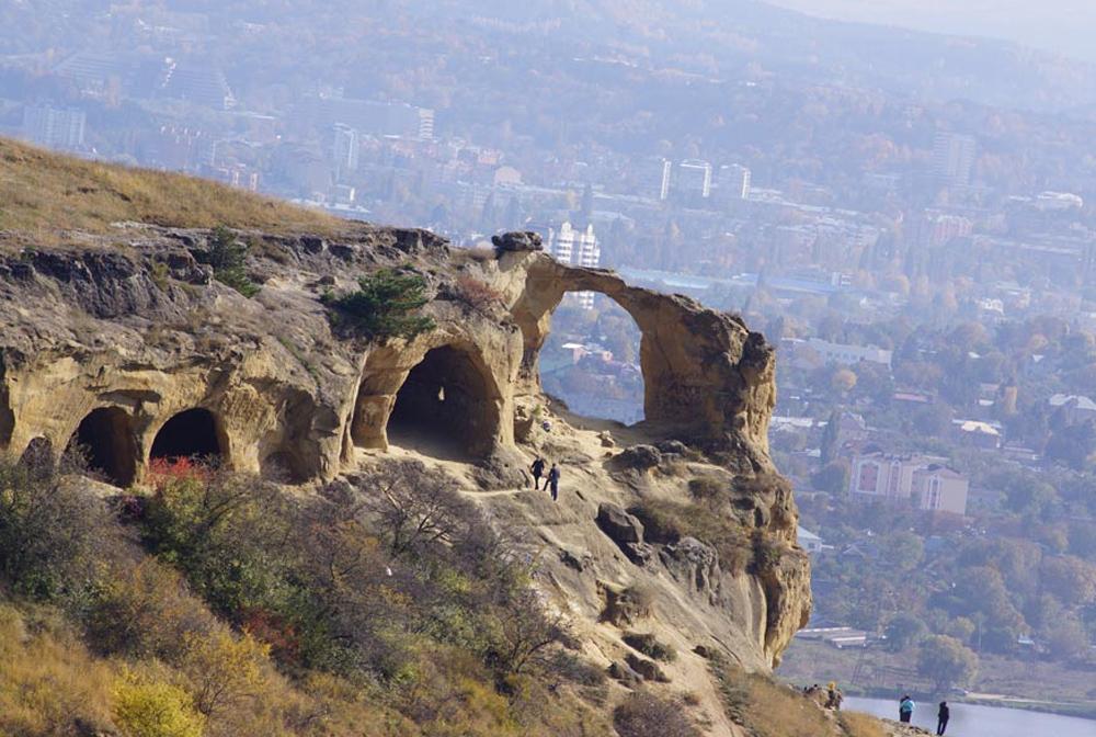 панорамный вид горы Кольца в Кисловодске