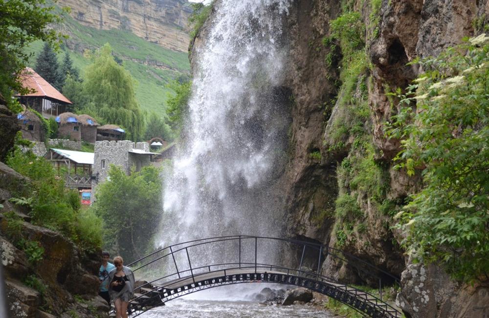 Медовые водопады фото