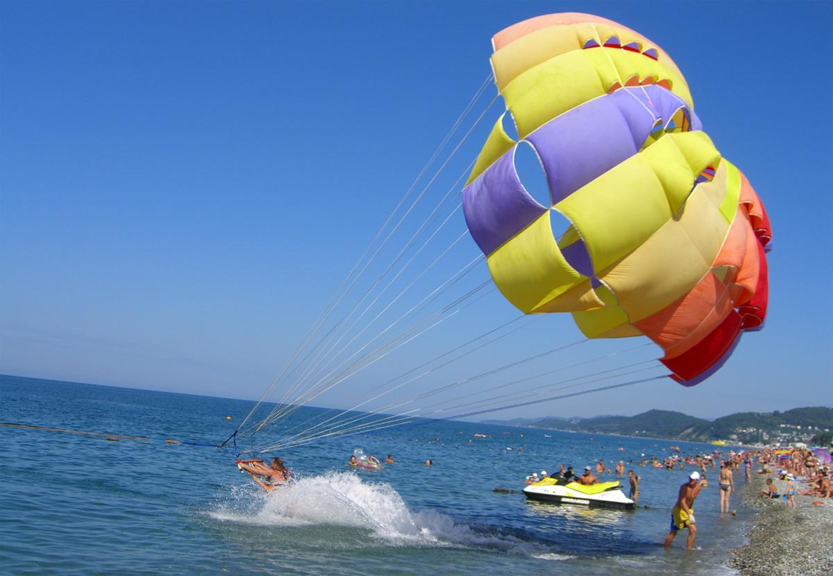 черноморское побережье отдых