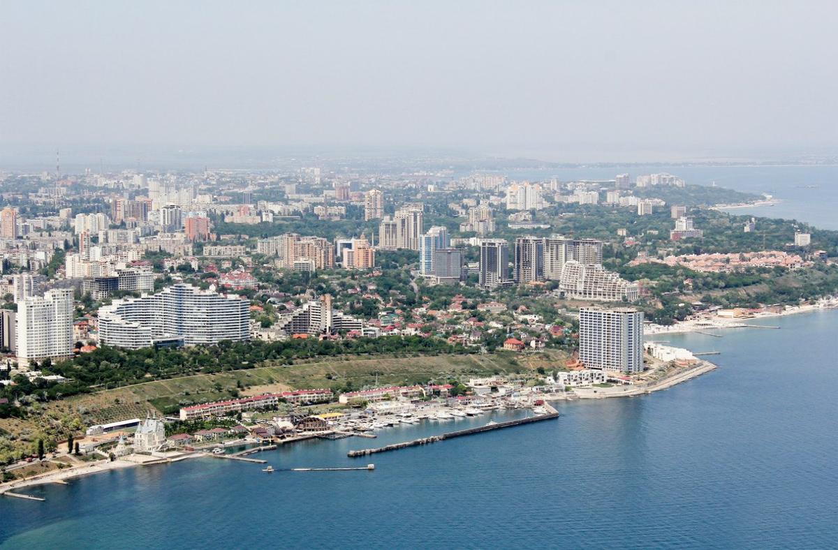 побережье в районе Одессы