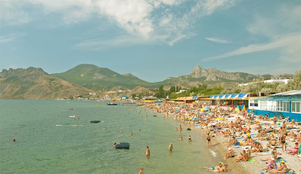 коктебель фото поселка и пляжа