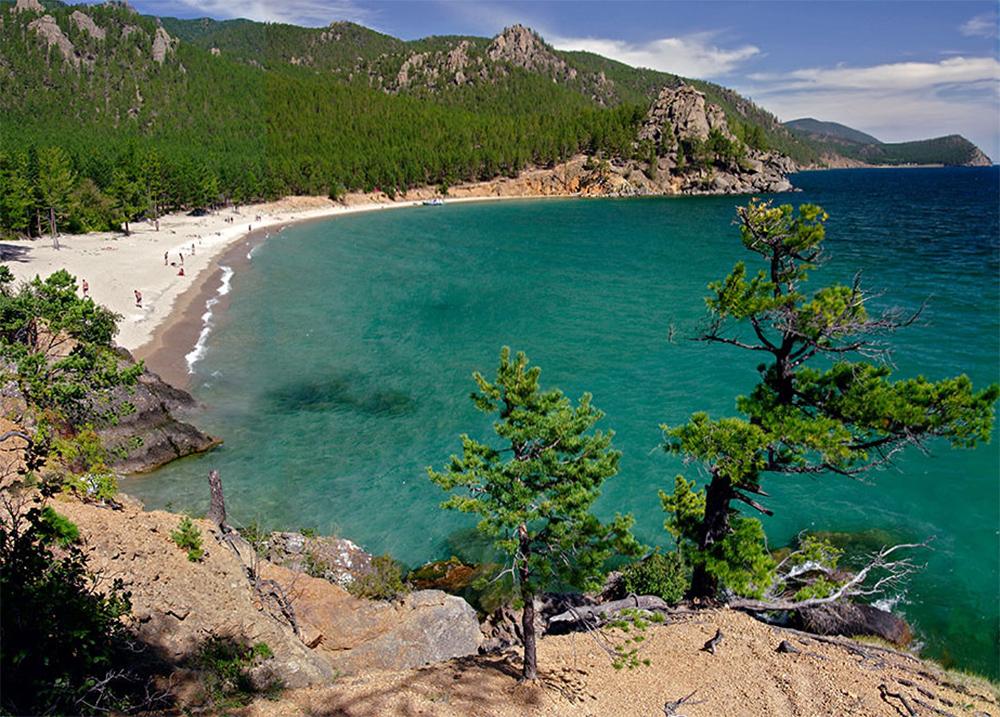 Бухта Песчаная озеро Байкал