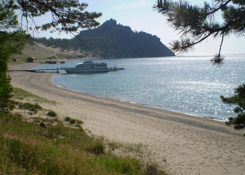 Бухта Песчаная - пляж