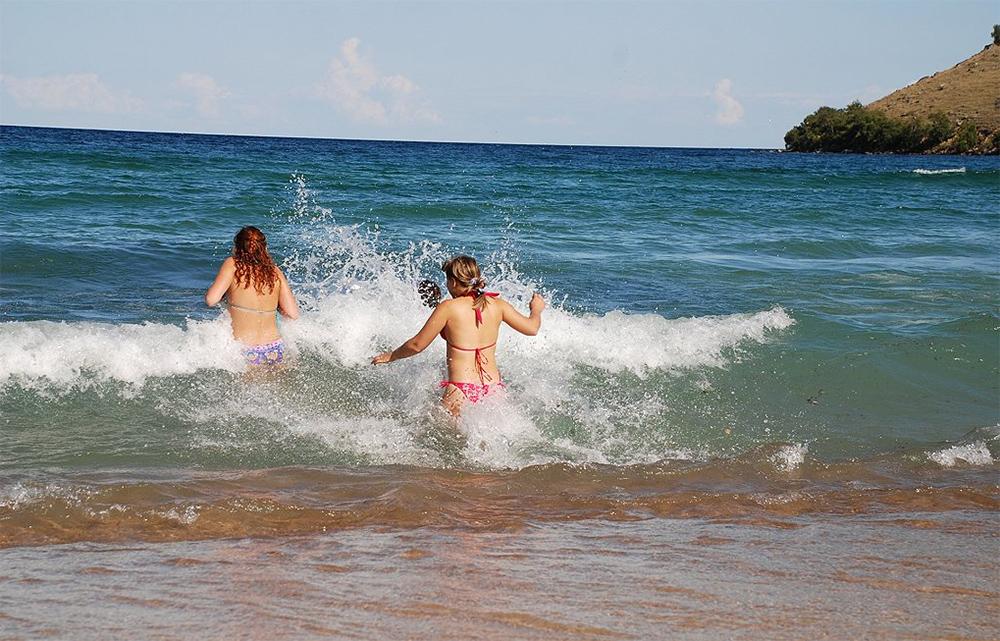 На байкале можно купаться летом