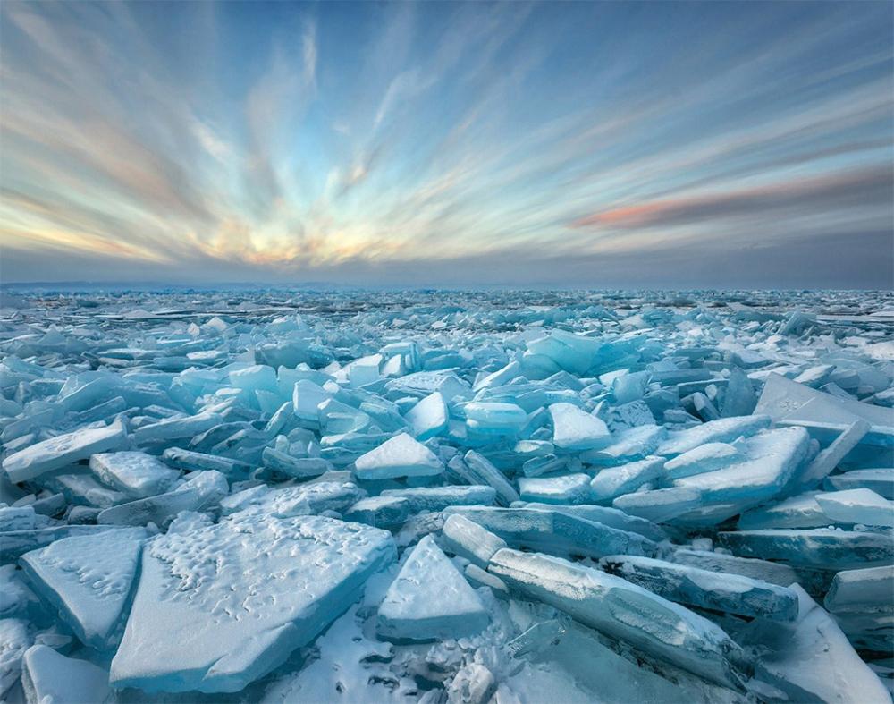 чудеса природы на озере Байкал