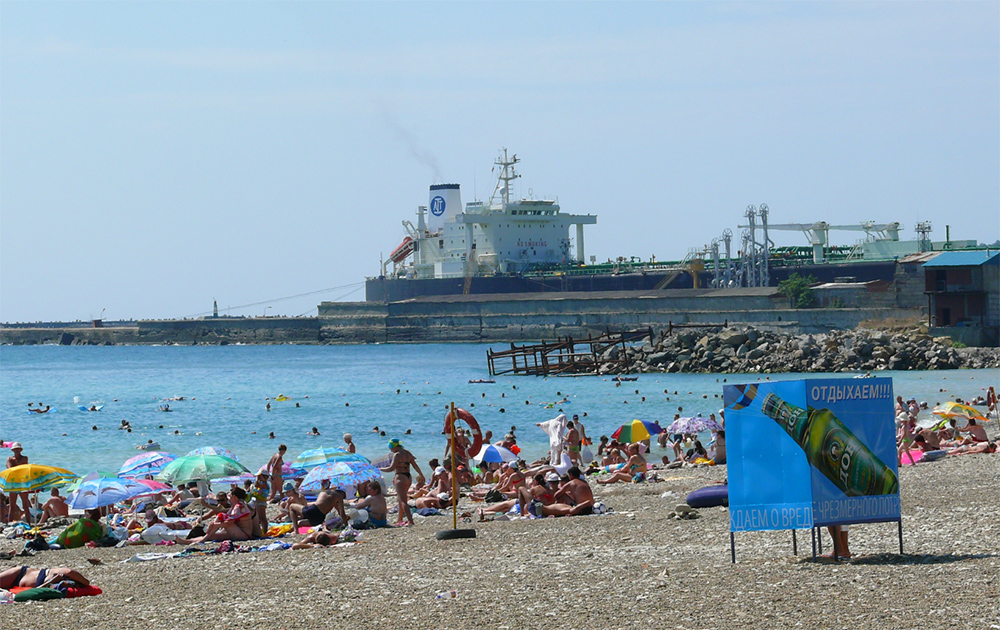 Туапсе пляж